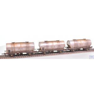 ACC1067-PCV-J Accurascale OO Gauge APCM Cemflo / PCV Powder Wagon - Triple Pack - APCM8514