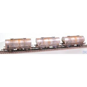 ACC1068-PCV-K Accurascale OO Gauge APCM Cemflo / PCV Powder Wagon - Triple Pack - APCM8541
