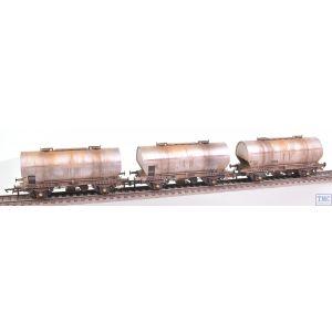 ACC1069-PCV-L Accurascale OO Gauge APCM Cemflo / PCV Powder Wagon - Triple Pack - APCM8501