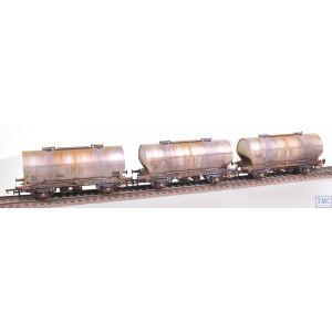 ACC1070-PCV-M Accurascale OO Gauge APCM Cemflo / PCV Powder Wagon - Triple Pack - APCM8575