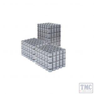 ACC2259KEG Accurascale OO Scale 5 Stacks of Kegs - 90 Keg Version