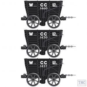 ACC2804-E Accurascale OO Gauge Wearmouth Coal Co. Chaldron Pack