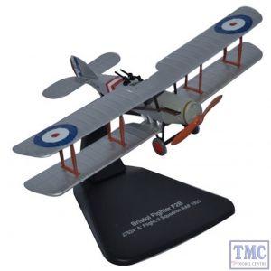 AD003 Oxford Diecast 1:72 Scale Bristol F2B J7624 A Flight 2 Squadron
