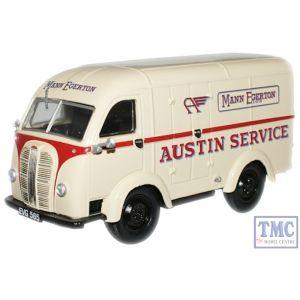AK005 Oxford Diecast 1:43 Scale Austin Service/Mann Egerton Austin K8