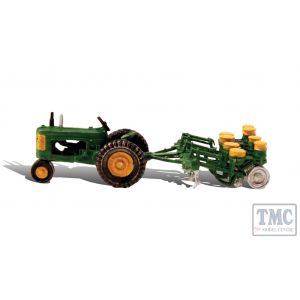 AS5565 Woodland Scenics OO/HO Scale Tractor & Planter Seed Drill