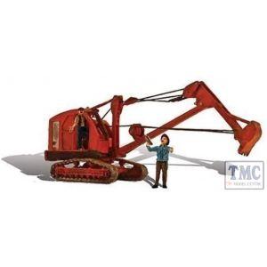 AS5566 Woodland Scenics OO/HO Scale Backhoe Excavator