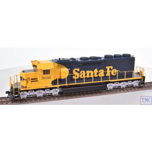 98828 Athearn HO Gauge (US Outline) SD40 Diesel Loco 5016 Santa Fe Blue/Yellow DCC Sound Fitted