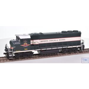 10001410 Atlas HO Gauge (US Outline) GP40-2(W) Loco 703 Aberdeen Carolina & Western Green/Cream DCC Sound Fitted