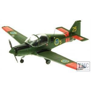 AV7225003 Aviation 72 1/72 SCOTTISH AVIATION BULLDOG SK61 SWEDISH AIR FORCE 61025
