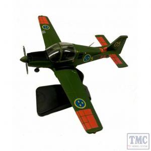 AV7225009 Aviation 72 1/72 SCOTTISH AVIATION BULLDOG SWEDISH AIR FORCE 61005