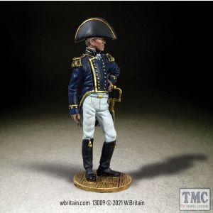 B13009 W.Britain U.S. Navy Captain 1810-15 Jack Tars & Leathernecks 1800s to 1970s