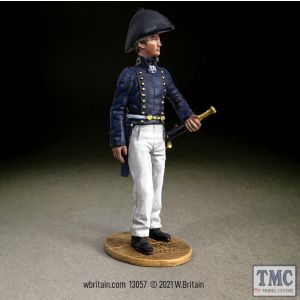 B13057 W.Britain U.S. Navy Midshipman 1810-15 Jack Tars & Leathernecks 1800s to 1970s