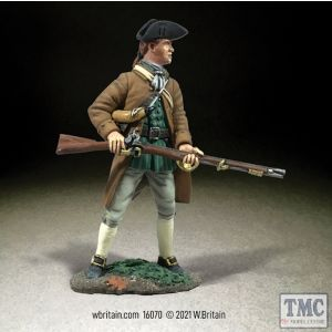 B16070 W.Britain Colonial Militia Standing at Ready No 2 Clash of Empires 1754-95
