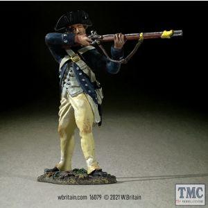 B16079 W.Britain Clark's Illinois Regiment Standing Firing 1782 Clash of Empires 1754-95