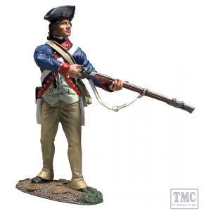 B16084 W.Britain Continental Line/1st American Regiment Standing Alert, 1779-87 Clash of Empires 1754-95