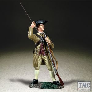 B16095 W.Britain Colonial Militia Standing Loading Musket (former 18044) Clash of Empires 1754-95
