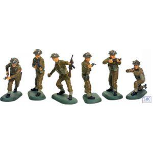 B17831 W.Britain World War II British Infantry 48 Piece Counter Pack Super Deetail Plastics
