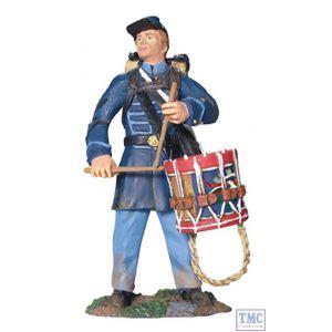 B17931 W.Britain Union Infantry Drummer in Frock Coat