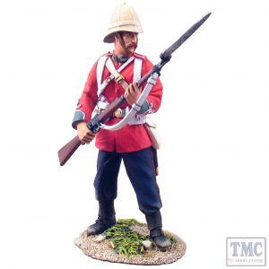 B20083 W.Britain British 24th Foot At The Ready No.1 Anglo-Zulu War 1879