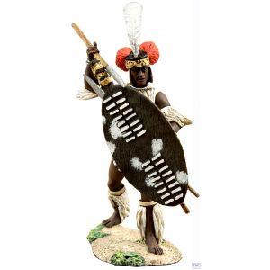B20112 W.Britain Zulu uMbonambi Defending 1 Zulu War Collection Matte (Discontinued)