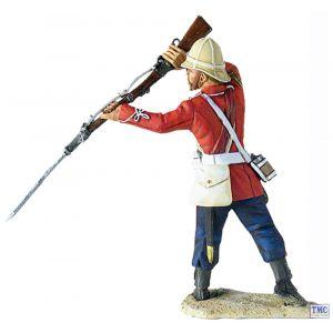 B20142 W.Britain 3rd (East Kent) Regiment (The Buffs) Sgt. Milne Parrying Zulu War Collection Matte