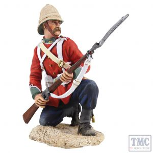 B20165 W.Britain British 24th Foot Kneeling Defending Anglo-Zulu War 1879