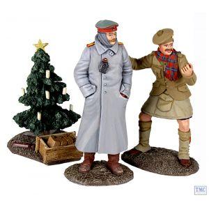 B23086 W.Britain Look At Him Go - 1914 Christmas Truce Set №2 World War I