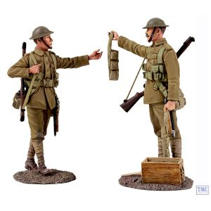 B23099 W.Britain Going Up the Line 2 Piece Ltd. Ed. 500 World War I Collection