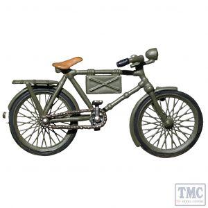 B25052 W.Britain WWII German Bicycle WWII 1939-45
