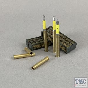 B25087 W.Britain German 88mm DP Gun Wicker Panniers and High Explosive Shells - 8 Piece WWII 1939-45