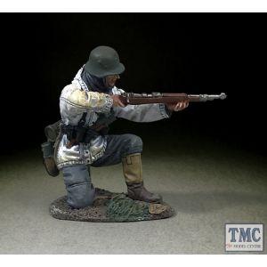 B25115 W.Britain German Grenadier Kneeling Firing K98 1943-45 WWII 1939-45