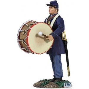 B31205 W.Britain Union Infantry Bass Drummer _1 American Civil War 1861-65