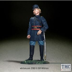 B31302 W.Britain Federal Captain George Armstrong Custer American Civil War 1861-65
