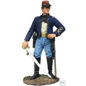 B31303 W.Britain Union Infantry 146th NY Zouave Officer No. 1 American Civil War 1861-65