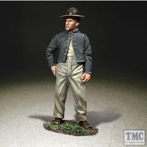 B31320 W.Britain Confederate Standing in Camp American Civil War 1861-65