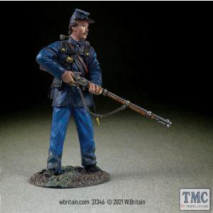 B31346 W.Britain Federal in Sack Coat Alert No 2 American Civil War 1861-65