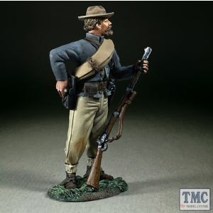 B31358 W.Britain Confederate Infantry Reaching for Cartridge American Civil War 1861-65