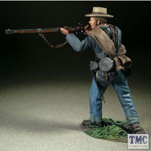 B31362 W.Britain Confederate Infantry Advancing Firing No 1 American Civil War 1861-65