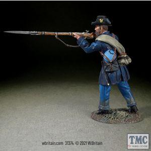 B31374 W.Britain Federal Iron Brigade Corporal Standing Firing American Civil War 1861-65