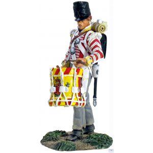 B36097 W.Britain British 44th Foot Regiment Battalion Company Drummer Napoleonic Collection