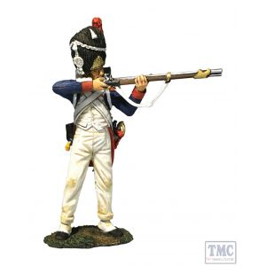 B36176 W.Britain French Old Guard 3rd Rank Standing Firing Napoleonic Wars 1803-15