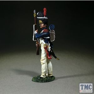 B36177 W.Britain French Imperial Guard Standing Make Ready Napoleonic Wars 1803-15