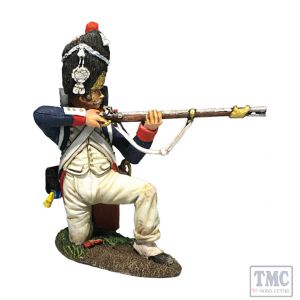 B36178 W.Britain French Old Guard 1st Rank Kneeling Firing Napoleonic Wars 1803-15