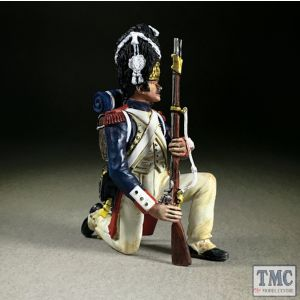 B36179 W.Britain French Imperial Guard Kneeling Make Ready Napoleonic Wars 1803-15