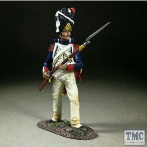 B36187 W.Britain French Imperial Guard Standing Defending Napoleonic Wars 1803-15