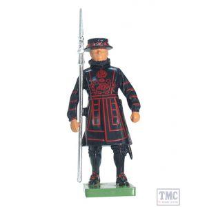 B41062 W.Britain Yeoman Warder Ceremonial Collection