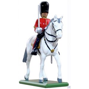 B41073 W.Britain Scots Guard Officer Mounted Ceremonial Collection