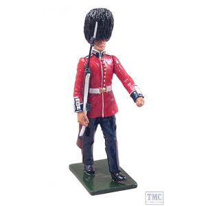 B44034 W.Britain Guardsman Grenadier Guards with SLR, 1970s Regiments Classic Collection 18th-19th c.