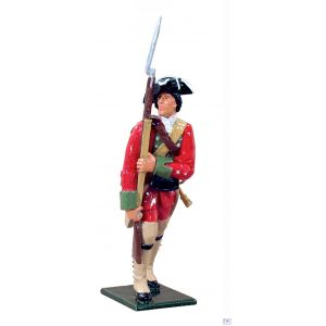 B47016 W.Britain Provincial Private Independent Company 1755 Redcoats & Bluecoats Collection