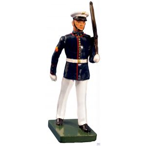 B48510 W.Britain United States Marine Corps Marching Summer Dress Ceremonial Collection